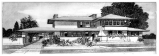 Frank Lloyd Wright rendering replication